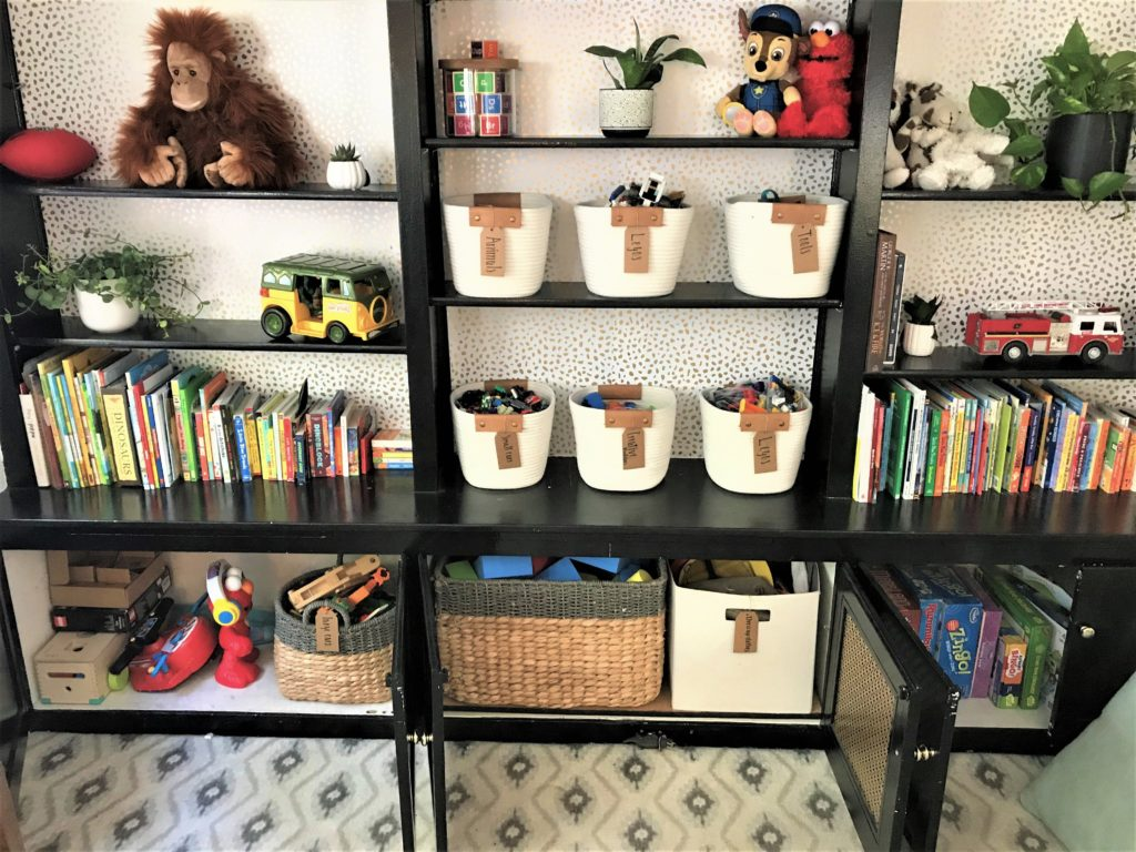 Kids Playroom Clutter
