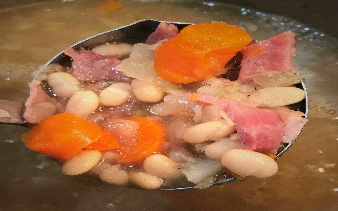 Easy Hearty Ham & Bean Soup