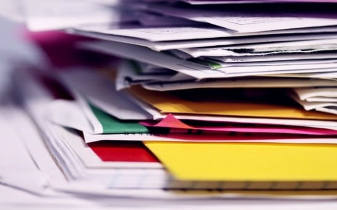 How to Get Household Paperwork Clutter to Stop Piling Up